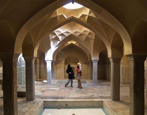 bath house isfahan october   fine  century