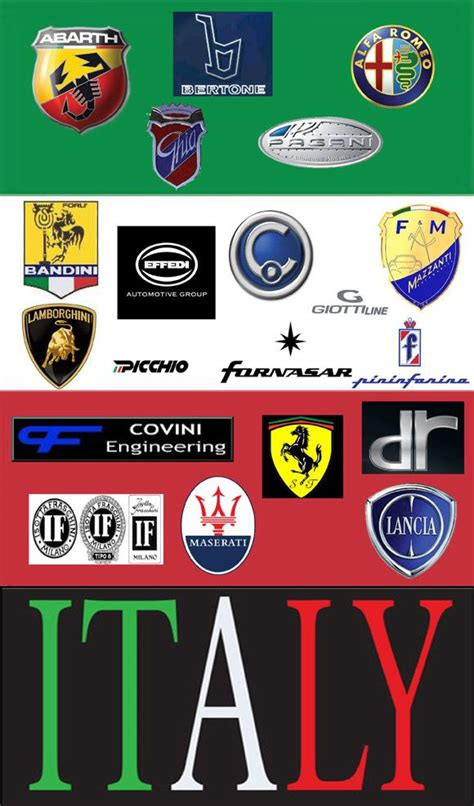 sports car logos 18 best made in italy images on pinterest italian style