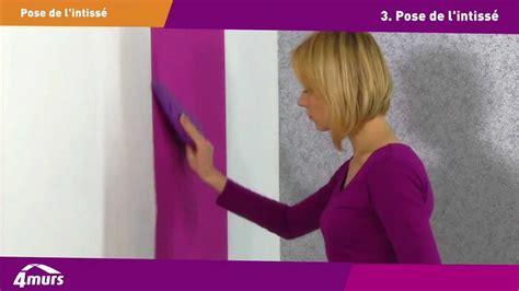 papier peint 4 murs chambre comment poser du papier peint intissé