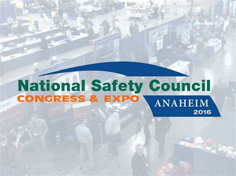 The 2016 National Safety Council Ntt Is Exhibiting At Nsc 2016 Ntt