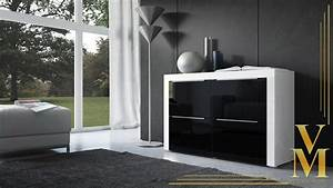 Kommode Hochglanz Schwarz : kommode sideboard tv board highboard schrank la paz in wei schwarz hochglanz ebay ~ Frokenaadalensverden.com Haus und Dekorationen