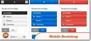 top 10 jquery mobile bootstraps and templates With jquerymobile template