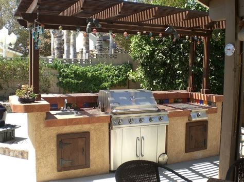 functional  practical outdoor kitchen design ideas