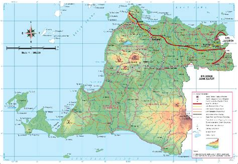 provinsi banten pulau jawa map beautiful indonesia umm