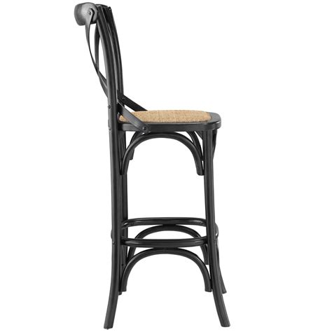 black wood counter stools x wood barstool brickell collection modern furniture 4770