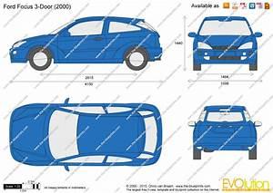 Dimension Ford Focus 3 : ford focus 3 door vector drawing ~ Medecine-chirurgie-esthetiques.com Avis de Voitures