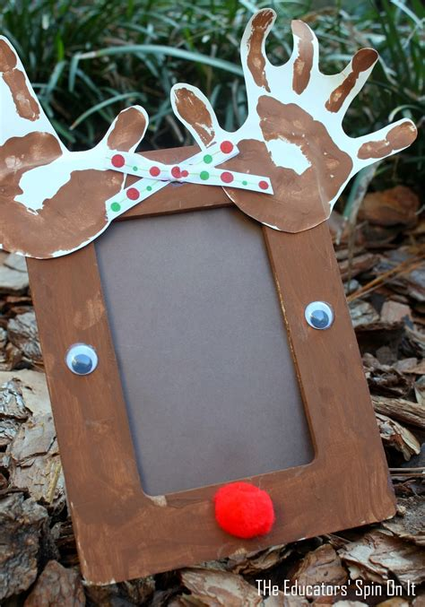 The Educators' Spin On It Preschool Reindeer Crafts And