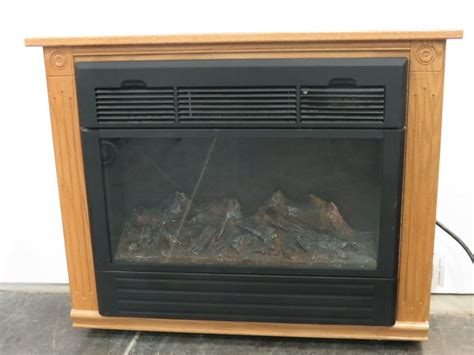 Amish Portable Electric Fireplace Heater