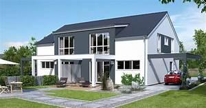 Doppelhaus Grundriss Beispiele : doppelhaus mit satteldach bauen ytong bausatzhaus ~ Lizthompson.info Haus und Dekorationen