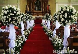 Church Wedding Flower Decoration Ideas