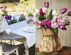 Tischdeko Frühling Geburtstag : coole tischdeko fr hling selber machen mit fr hlingsblumen freshouse ~ One.caynefoto.club Haus und Dekorationen