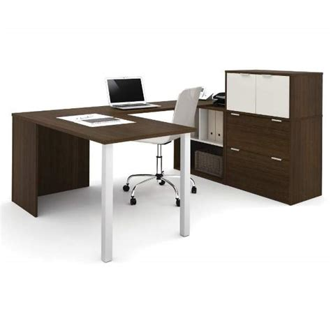 bestar 150860 u shaped desk