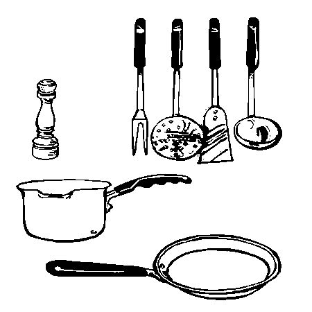 image d ustensiles de cuisine dessin d 39 ustensiles de cuisine 2