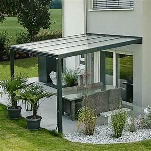 Terrassen uberdachung exklusiv grosse 2 tiefe 271 cm lange for überdachungen für terrassen