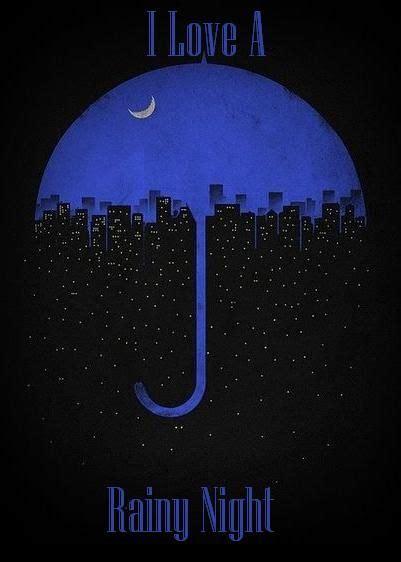 rainy night quotes quotesgram