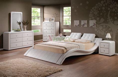modern upholstered platform bedroom furniture set  xiorex