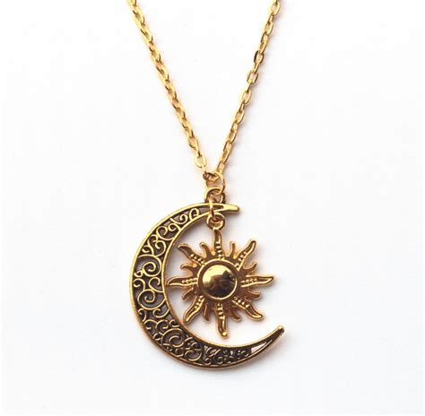 Goldsilver Plated Sun & Moon Necklace  Moon, Gold And. Sport Medallion. Child Chains. Ironman Triathlon Watches. Courage Bracelet. Pave Diamond Wedding Band. Browns Wedding Rings. Leo Birthstone Rings. Wedding Ring And Wedding Band