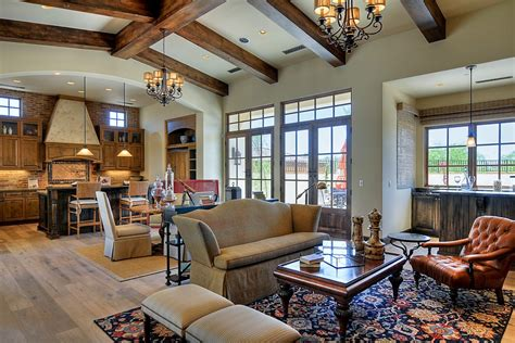Wood Beam Ceiling With Upholstered Dining Chair Living Casitas Floor Plans Timberframe Simple House Design With Plan In The Philippines Vatican Museum Marriott Wardman Park A Country Style Homes Open L Shaped Pictures