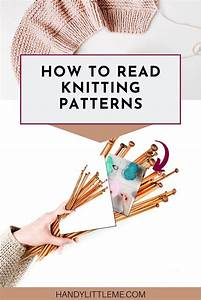 How To Read Knitting Patterns In 2020