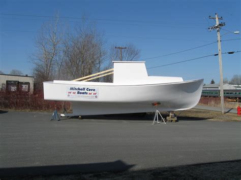 Downeast Boats by New Mitchell Cove 32 Downeast Kit The Hull