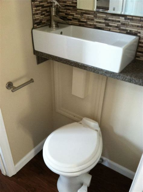 toilet and sink together 581 best images about tiny houses on pinterest guest houses school buses and vintage trailers