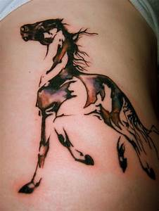Tita Tattoos: running horse tattoo