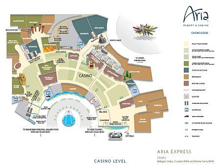 Aria Property Map - Las Vegas Maps