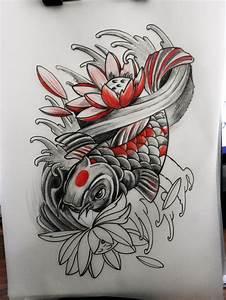 Koi Tattoo Vorlagen : 10 best desain images on pinterest art designs art projects and tattoo art ~ Frokenaadalensverden.com Haus und Dekorationen