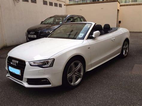 Audi A5 Convertible by Audi A5 Convertible S Line White 12 Reg Service