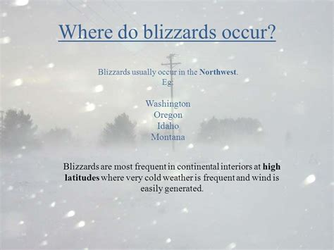 where do tornadoes usually form when do blizzard s occur bing images