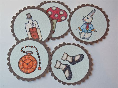 printable alice  wonderland party supplies party