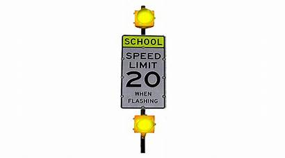 Limit Speed Double Zone Flashing Led Beacon