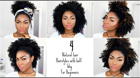 Afro Half Wig For Beginners