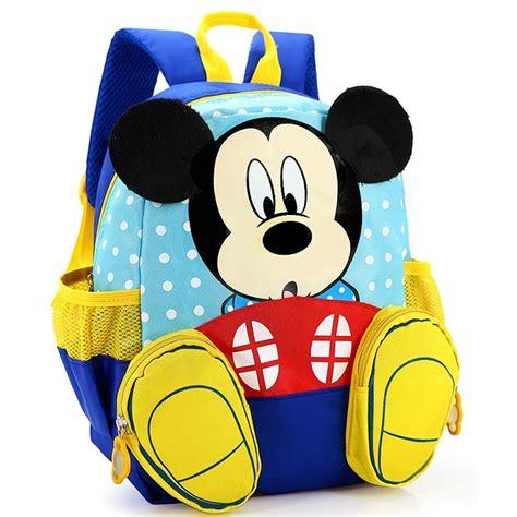 tas ransel anak kartun gambar mickey mouse blue jakartanotebook