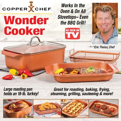copper chef  cooker    tv  collections