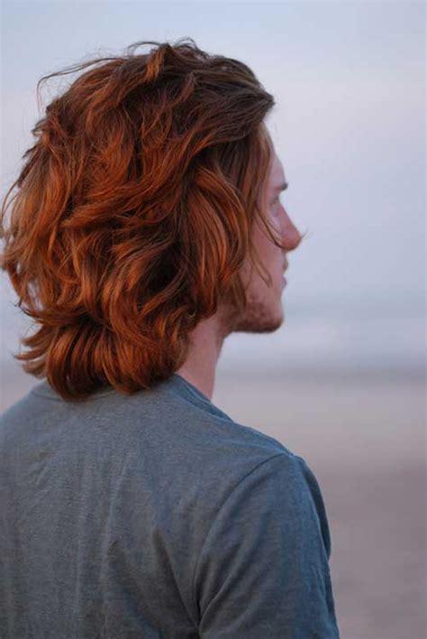 red hair color  men mens hairstyles