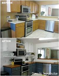 kitchen remodel before and after Pneumatic Addict : 14 DIY Kitchen Remodels to Inspire