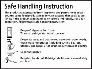 Safe Handling Instruction