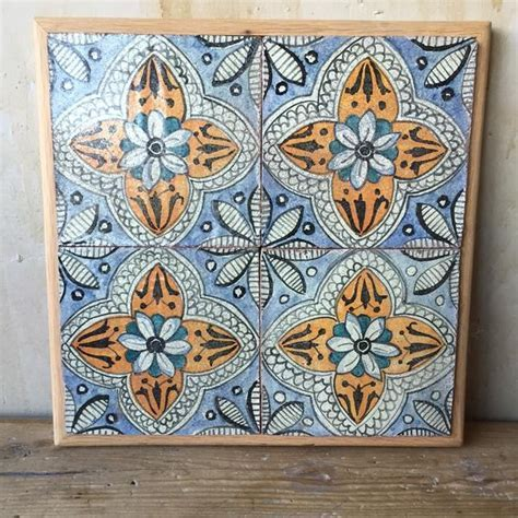 Antique Italian Tiles   18th Century
