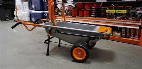 worx aerocart wheelbarrow  hand dolly todays homeowner