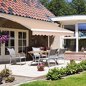 joo life manual patio retractable awning windowdoor sun shade shelter outdoor canopy deck