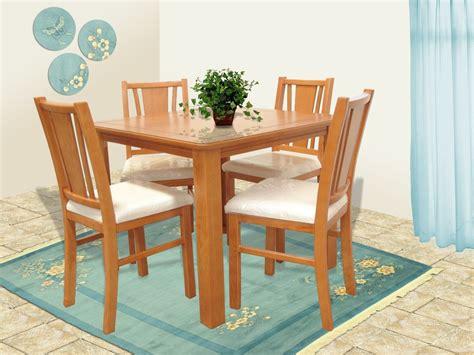 silla de madera comedor milan muebles el angel
