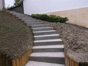 prix d39un escalier exterieur 2018 travauxcom With porte d entrée pvc avec resine minerale salle de bain