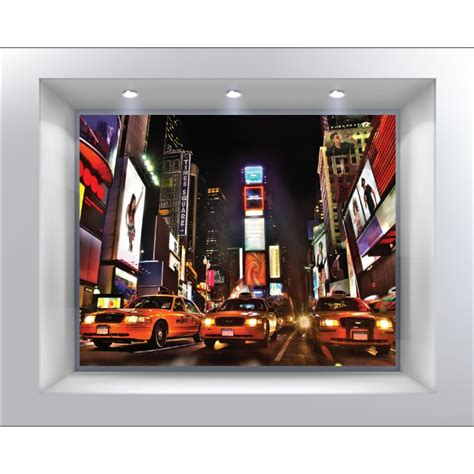 stickers muraux d 233 co trompe l oeil new york taxi d 233 co stickers