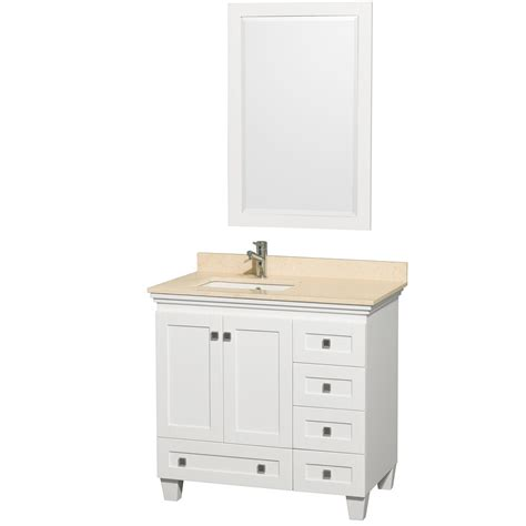 White Bathroom Vanities  Modern Vanity For Bathrooms