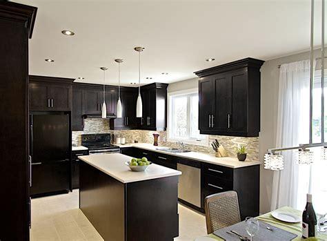 comptoir de cuisine sur mesure cuisine avec comptoir en stratifié et ameublement bois cuisine design comptoirs