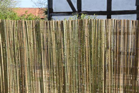 garten sichtschutz bambus bambusmatte 5m x 1 5m bambus sichtschutzmatte zaun sichtschutz matte geschnitten