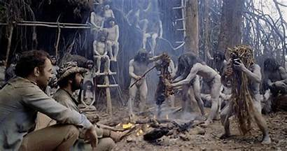 Cannibal Holocaust Cannibals 1980 Giphy Hell Gifs
