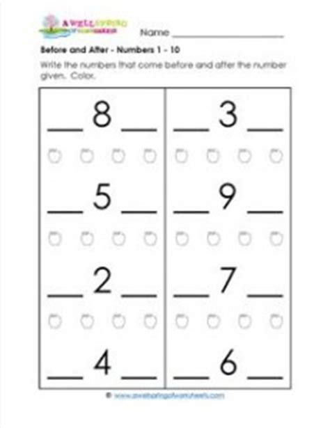numbers   positional words