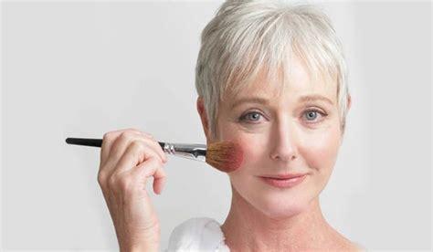 professional makeup tips  older women   minimal makeup